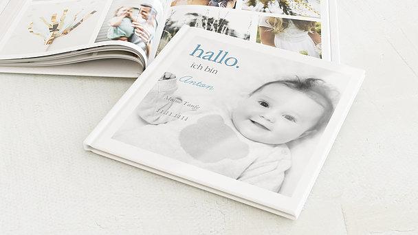 Fotobuch Taufe Einfach Simple Detail