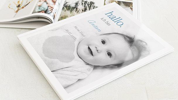 Fotobuch Taufe - Willkommen