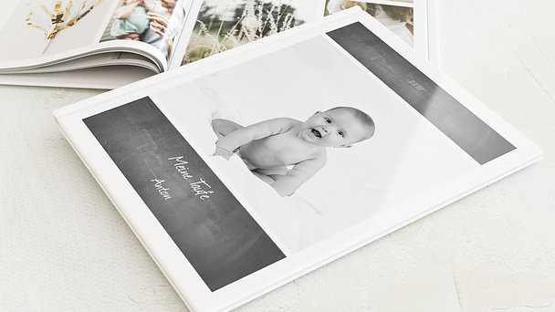 Fotobuch Taufe - Getäfelt jung
