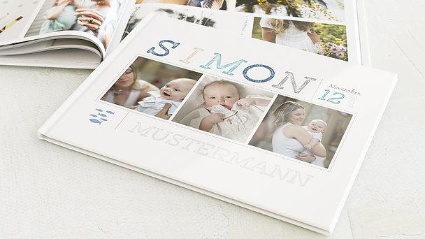 Fotobuch Taufe - Erster Gruß