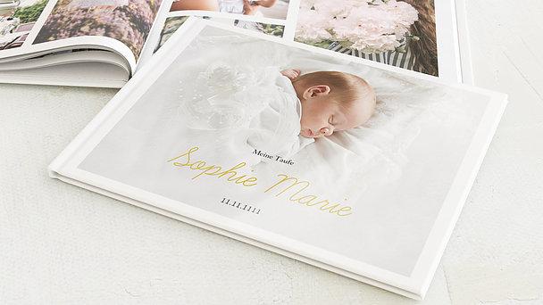 Fotobuch Taufe - Einfach & Simple