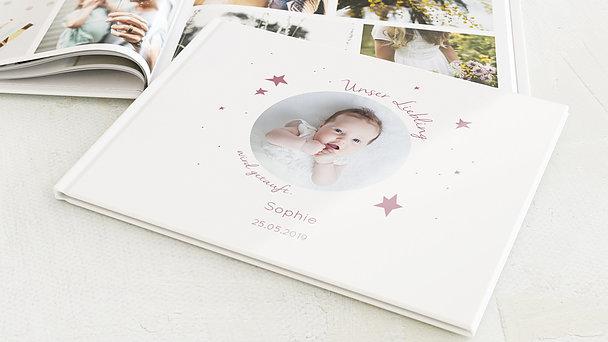 Fotobuch Taufe - Baby Star