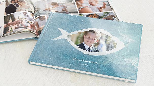 Fotobuch Kommunion - Fisch im Wasser