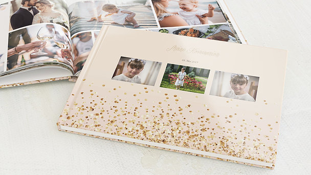 Fotobuch Kommunion - Geflitter Kommunion