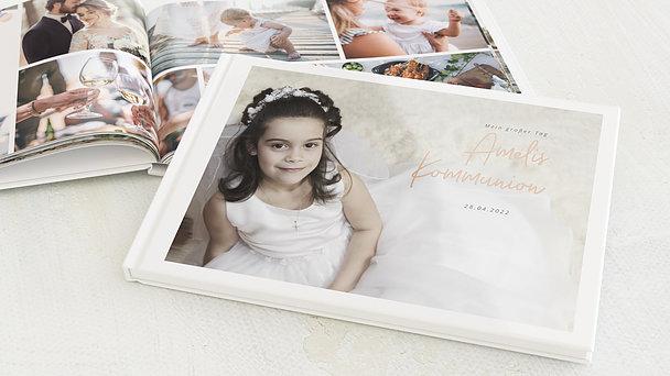 Fotobuch Kommunion - Elegante Freude