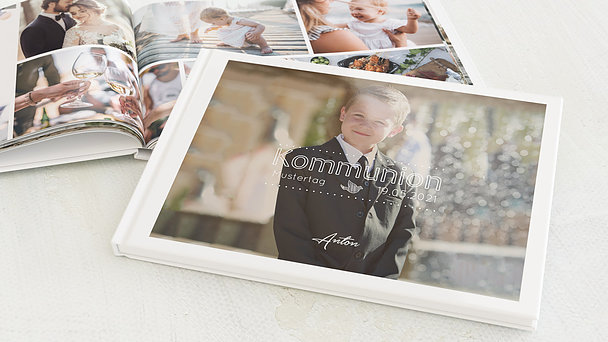 Fotobuch Kommunion - Kommunionswimpel