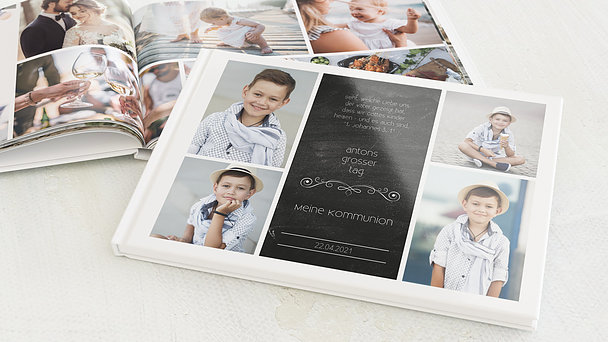 Fotobuch Kommunion - Kommunionstafel