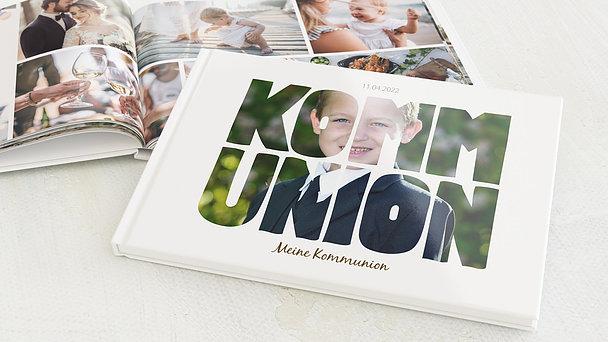 Fotobuch Kommunion - Fototext
