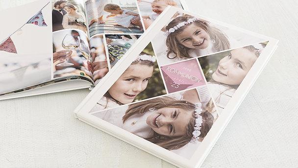 Fotobuch Kommunion - Bunt gefächert