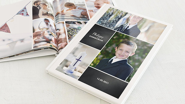 Fotobuch Kommunion - Gekachelt