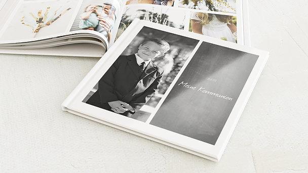 Fotobuch Kommunion - Getäfelt jung