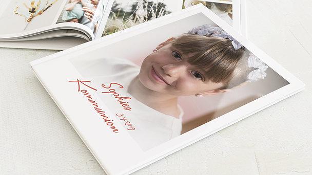 Fotobuch Kommunion - Ganz groß