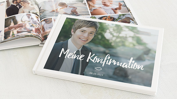 Fotobuch Konfirmation - Im Mittelpunkt Konfirmation