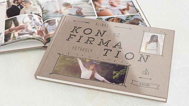 Fotobuch Konfirmation - Freudestrahlen