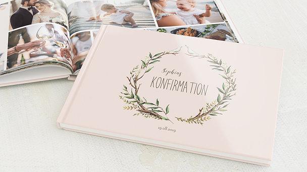 Fotobuch Konfirmation - Konfirmationkranz