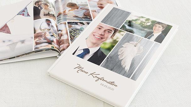 Fotobuch Konfirmation - Geflügelt