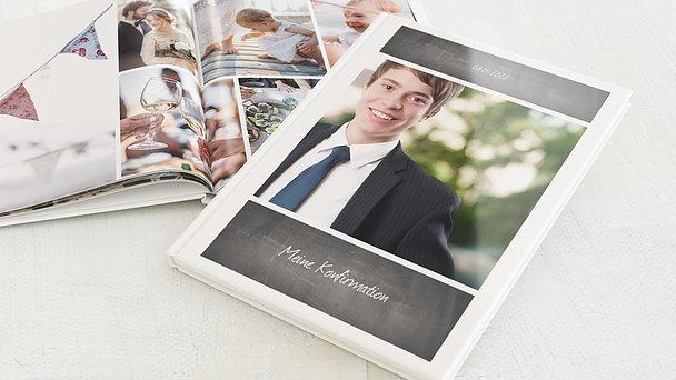 Fotobuch Konfirmation - Getäfelt