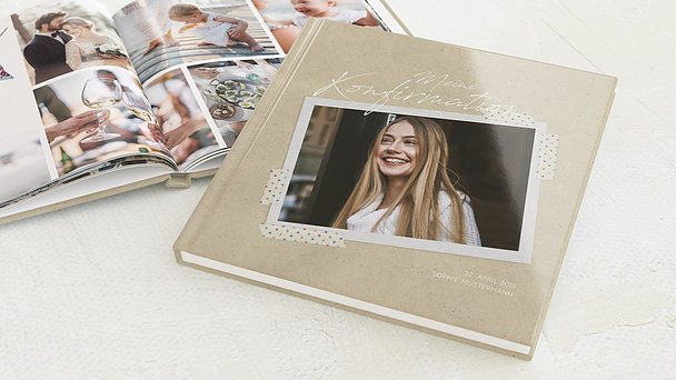 Fotobuch Konfirmation - Mein Tagebuch