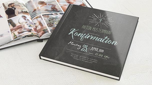 Fotobuch Konfirmation - Ankündigung