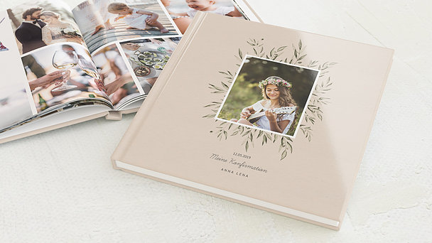 Fotobuch Konfirmation - Wildflowers