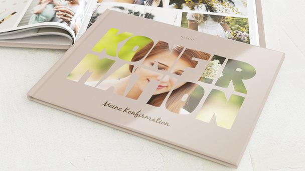 Fotobuch Konfirmation - Fototext