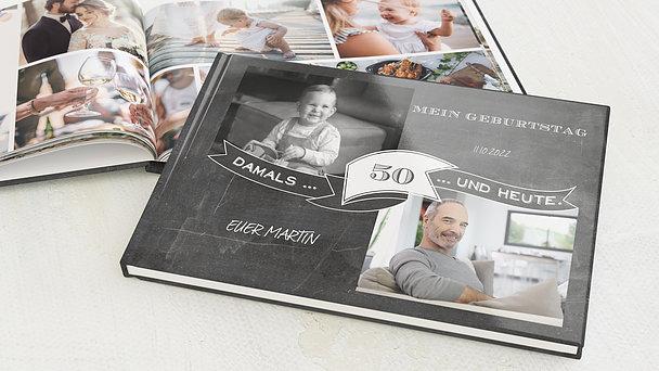 Fotobuch Geburtstag - Jahrestafel 50