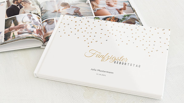 Fotobuch Geburtstag - Geburtstagsglamour