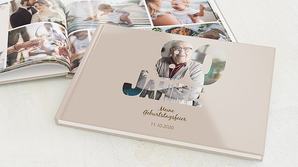 Fotobuch Geburtstag - Stolze 80