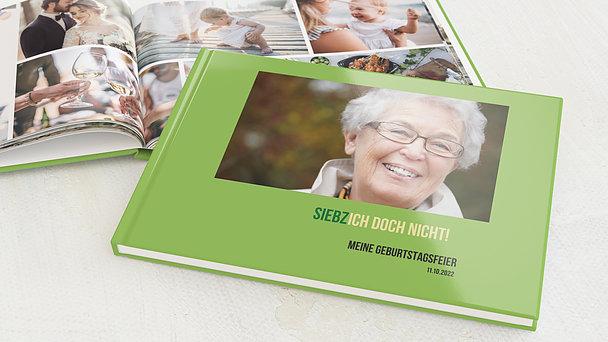 Fotobuch Geburtstag - Siebzich