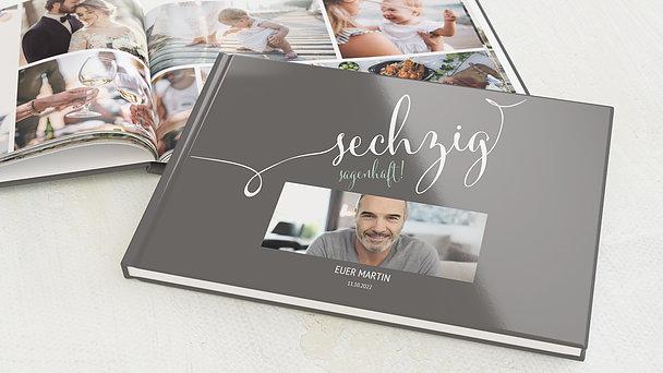 Fotobuch Geburtstag - Sagenhafte Sechzig