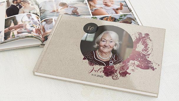 Fotobuch Geburtstag - Flower Art 80