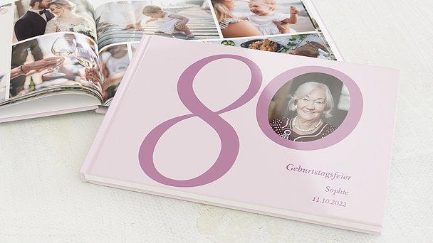 Fotobuch Geburtstag - Meine Achtzig