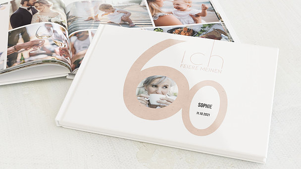 Fotobuch Geburtstag - Tolle Nummer 60