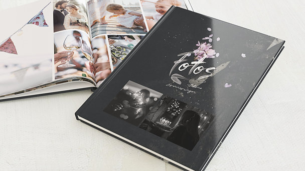 Fotobuch Geburtstag - Grunge blossom