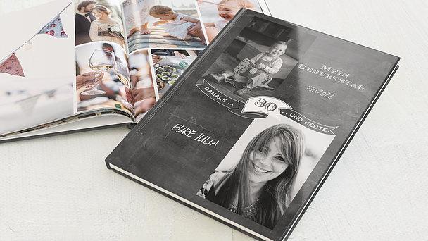 Fotobuch Geburtstag - Jahrestafel  30