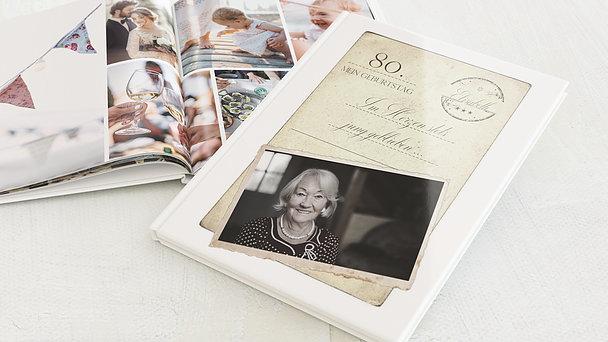 Fotobuch Geburtstag - Jung geblieben 80