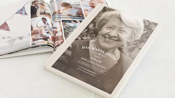 Fotobuch Geburtstag - Alte Zeiten 80