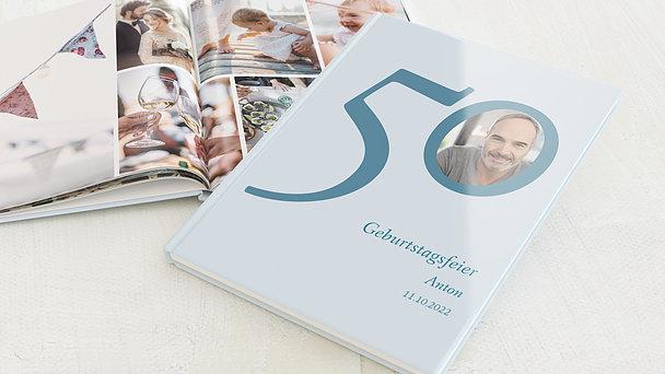 Fotobuch Geburtstag - Meine Fünfzig