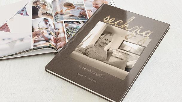 Fotobuch Geburtstag - Goldener Tag 60