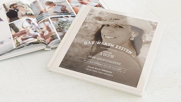 Fotobuch Geburtstag - Alte Zeiten 50