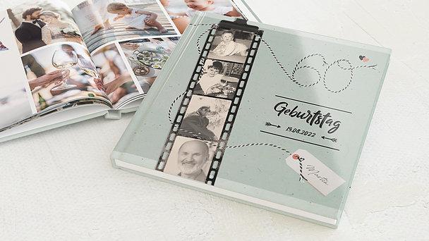 Fotobuch Geburtstag - Filmstreifen 60
