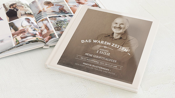 Fotobuch Geburtstag - Alte Zeiten 70
