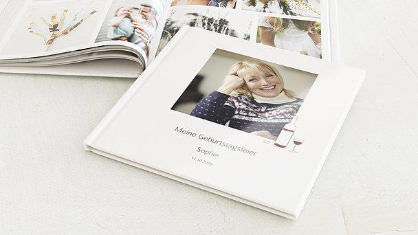 Fotobuch Geburtstag - Weinrebe Foto