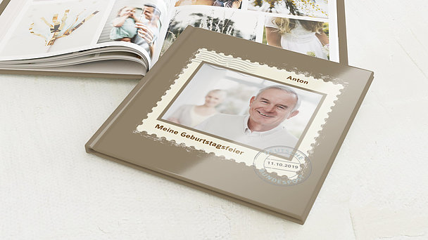 Fotobuch Geburtstag - Geburtstagspost