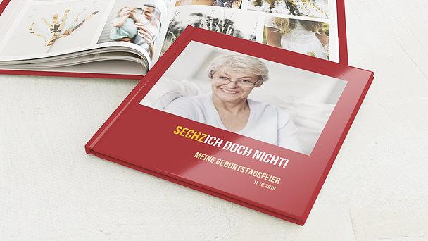 Fotobuch Geburtstag - Sechzich