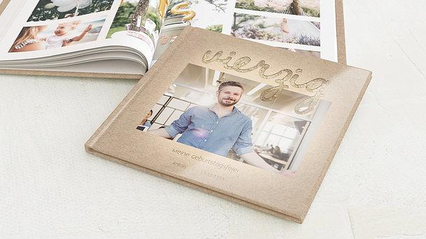 Fotobuch Geburtstag - Goldener Tag 40