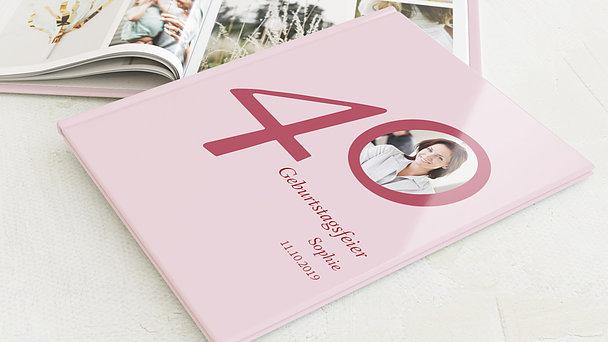 Fotobuch Geburtstag - Meine Vierzig