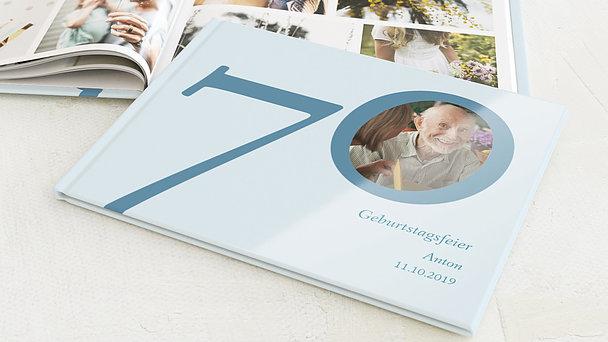 Fotobuch Geburtstag - Meine Siebzig