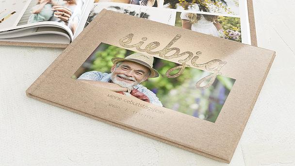 Fotobuch Geburtstag - Goldener Tag 70