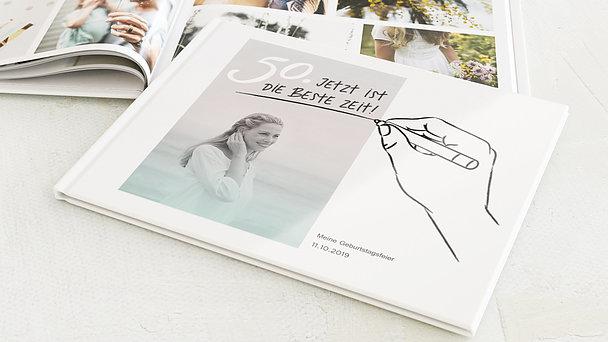 Fotobuch Geburtstag - Handgeschrieben